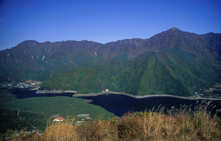 Aokigahara and Saiko Lake, as viewed from Koyodai (c) Alpsdake, CC BY-SA 3.0